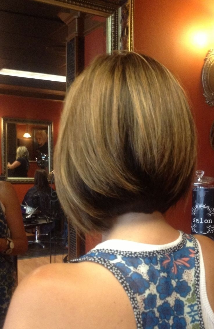 10 Chic Inverted Bob Hairstyles: Easy Short Haircuts - Popular Haircuts regarding Bob Haircuts For Thick Hair Back View