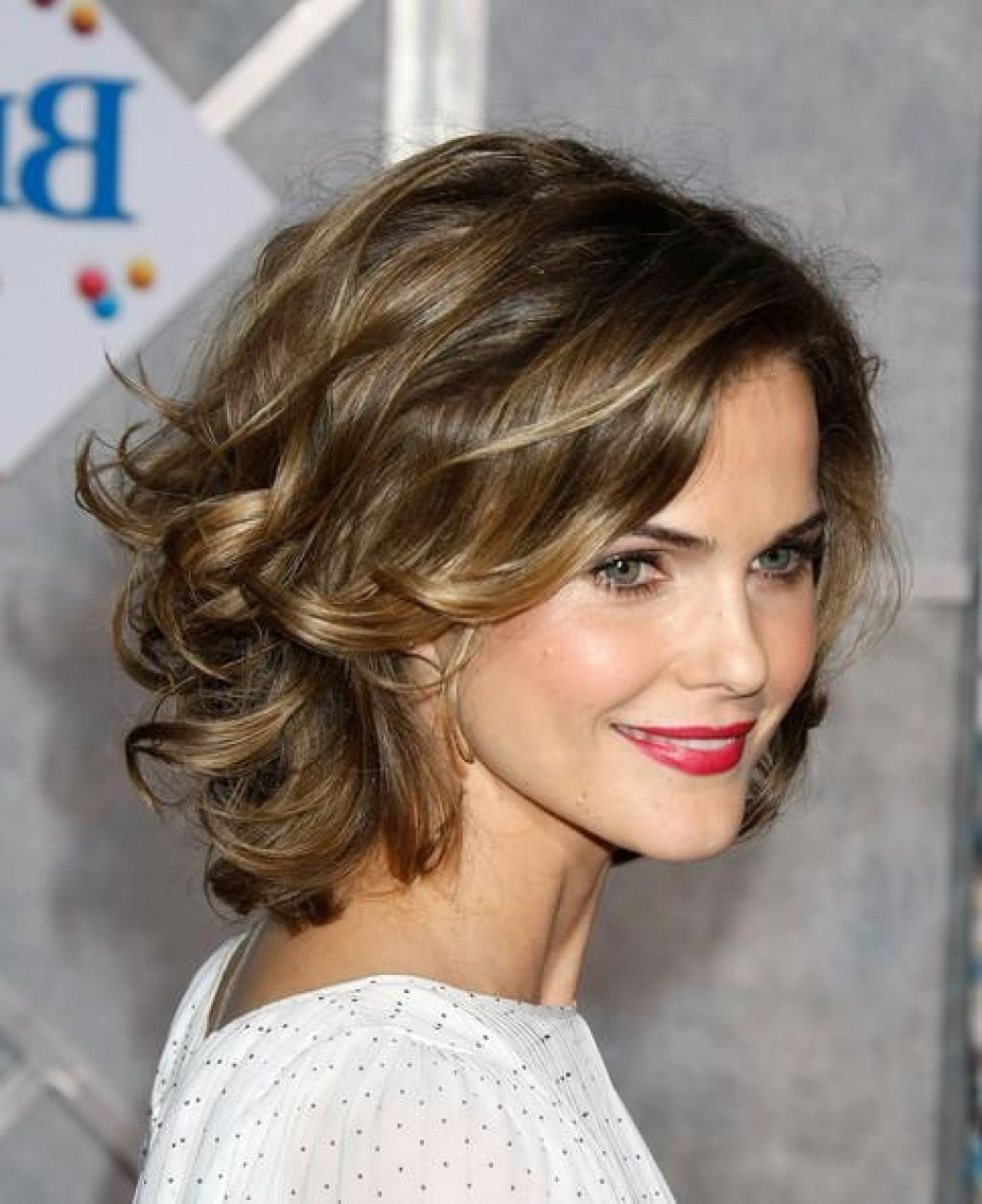 14 Short Hairstyles For Women 2017   Cury-Wavy-Layered – Hairstyles in Haircut For Thick Fine Hair
