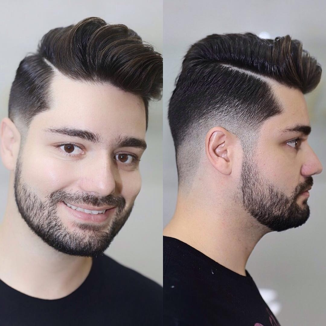20 Cool Haircuts For Men With Round Face -Men Hairstyles in New Hairstyle For Round Face Man 2017