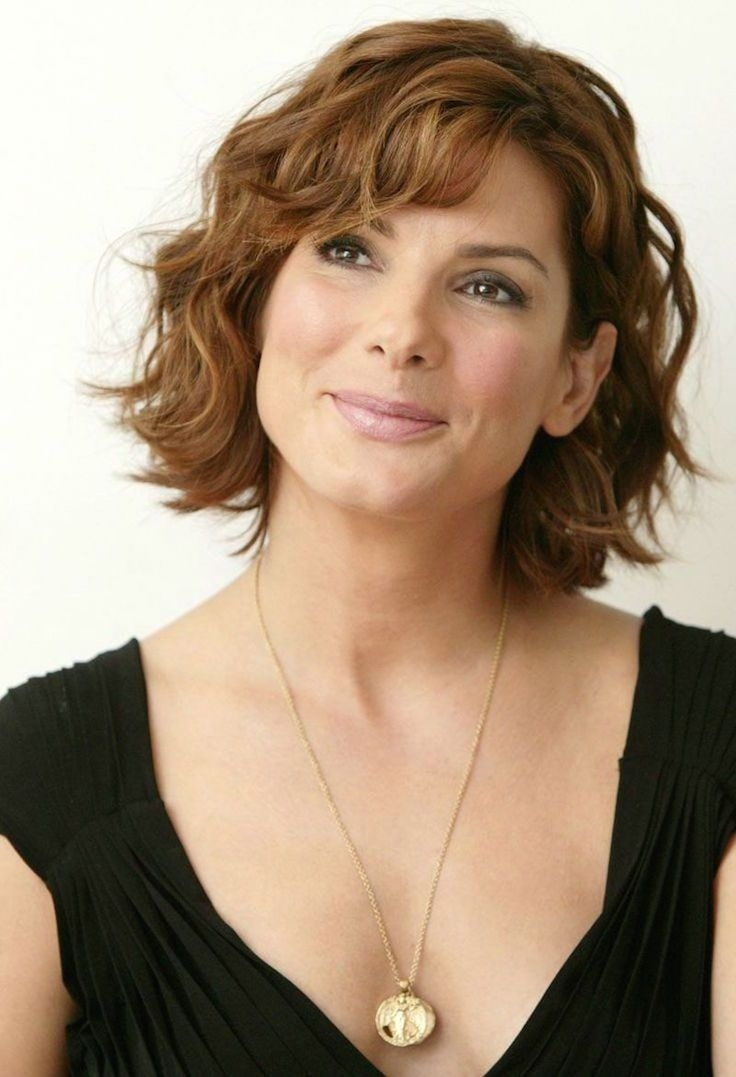 20 Hairstyles For Older Women   Lori's Hair Styles   Pinterest for Short Haircuts For Wavy Brown Hair
