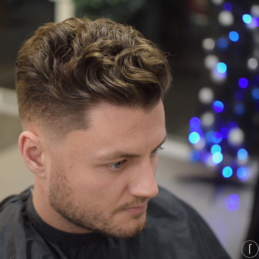 21 Cool Men's Haircuts For Wavy Hair (2018 Update) within Haircut For Wavy Hair Male