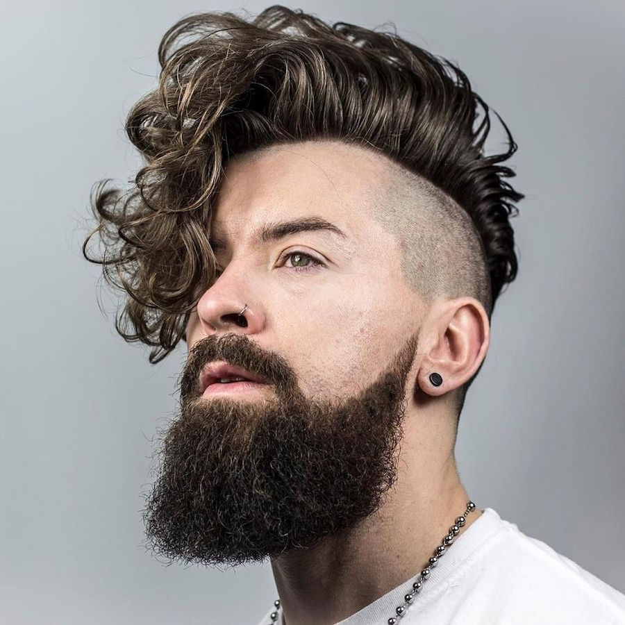 21 New Men's Hairstyles For Curly Hair regarding Haircut Styles For Wavy Hair Guys