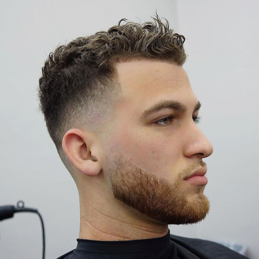 21 New Men's Hairstyles For Curly Hair with regard to Haircut For Curly Short Hair Male