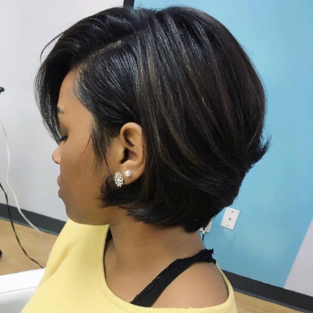 30 Best African American Hairstyles 2018 - Hottest Hair Ideas For regarding Bob Haircut 2018 Black Hair