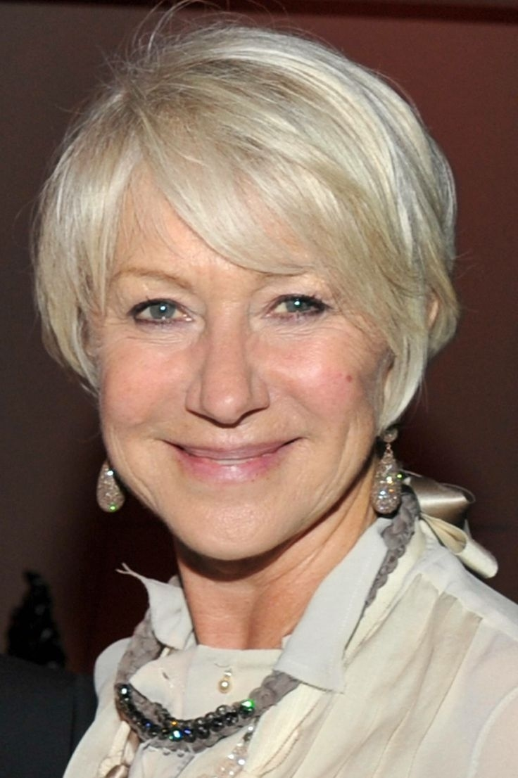 30 Best Gray Hair Styles Images On Pinterest | Hair Cut, Short Films for Haircut For Thin Grey Hair