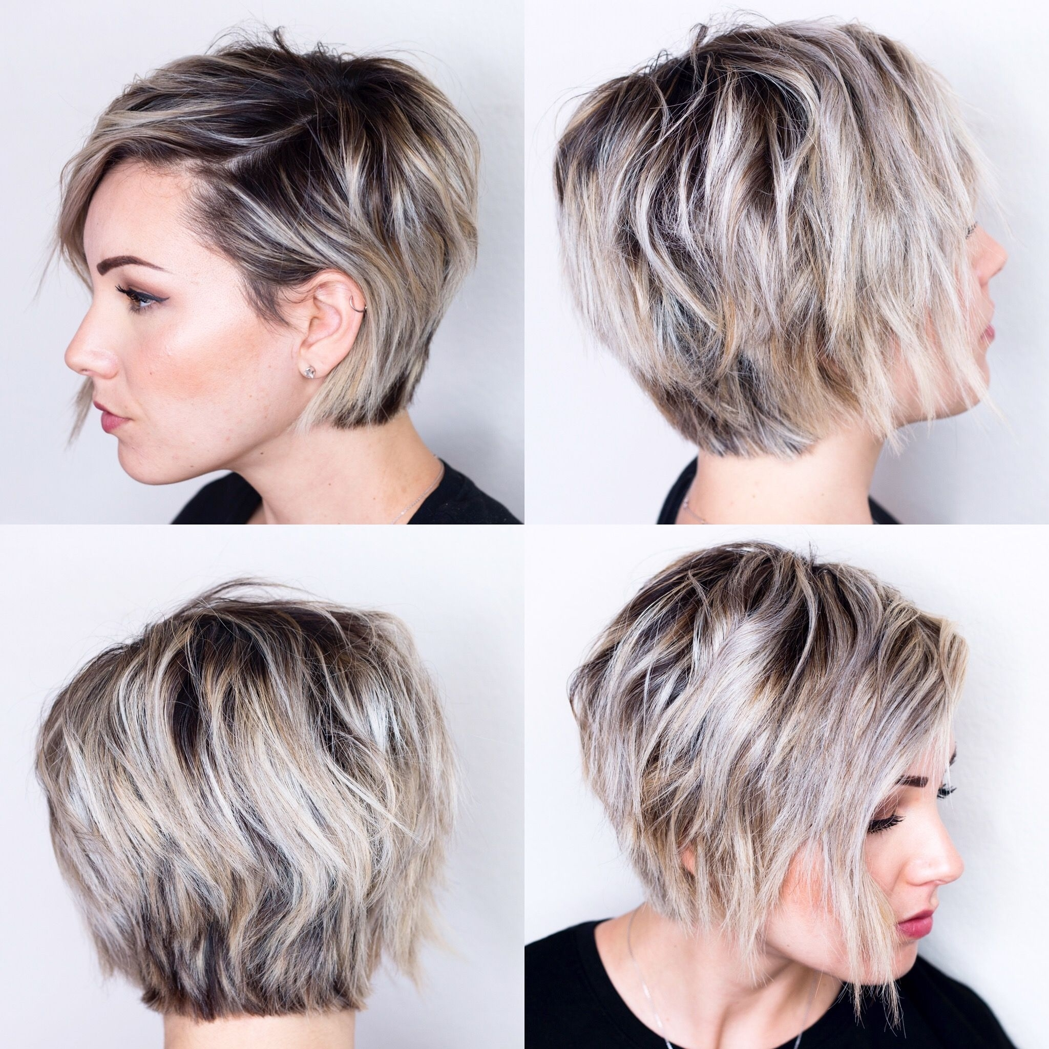 360 View Of Short Hair | H A I R | Pinterest | Short Hair, Shorts with Hairstyle For Oval Face Short