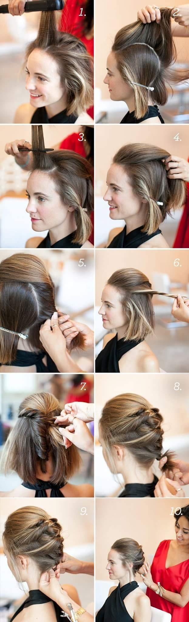 46 Best Ideas For Hairstyles For Thin Hair inside Hairstyle For Thin Hair Step By Step
