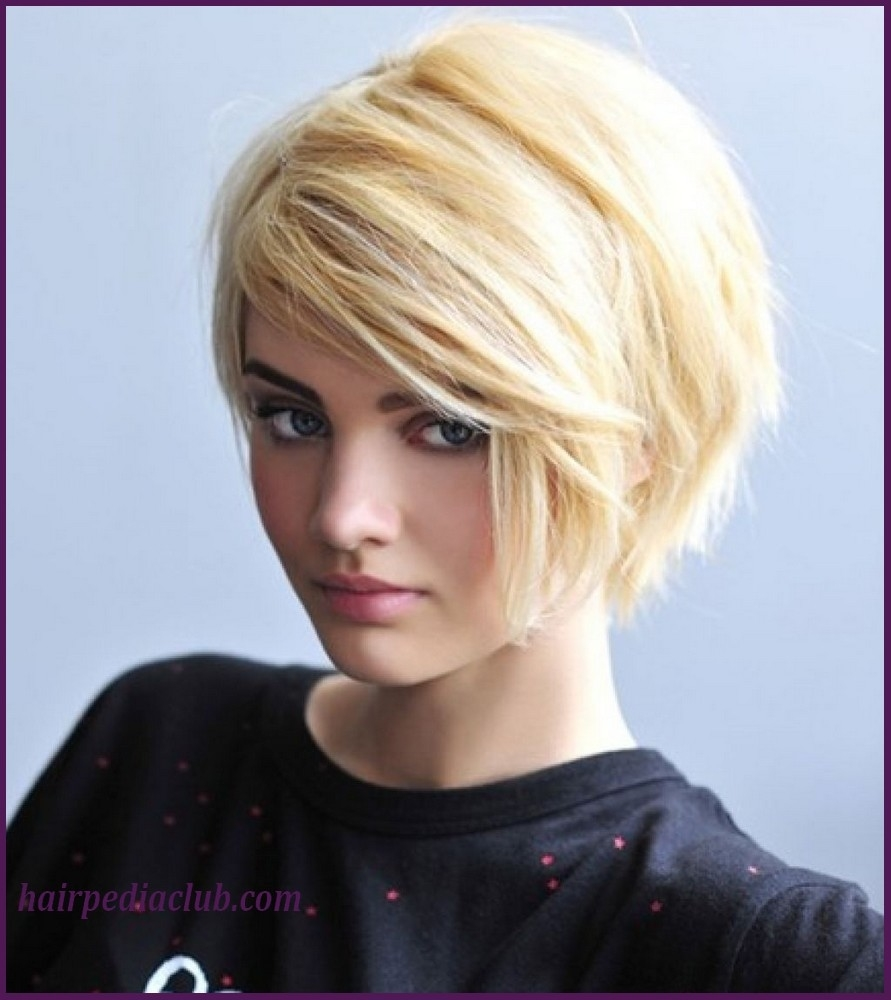 5 Short Haircuts For Thick Hair And Round Faces - Hairstyles, Easy inside Short Haircut For Oval Face And Thick Hair
