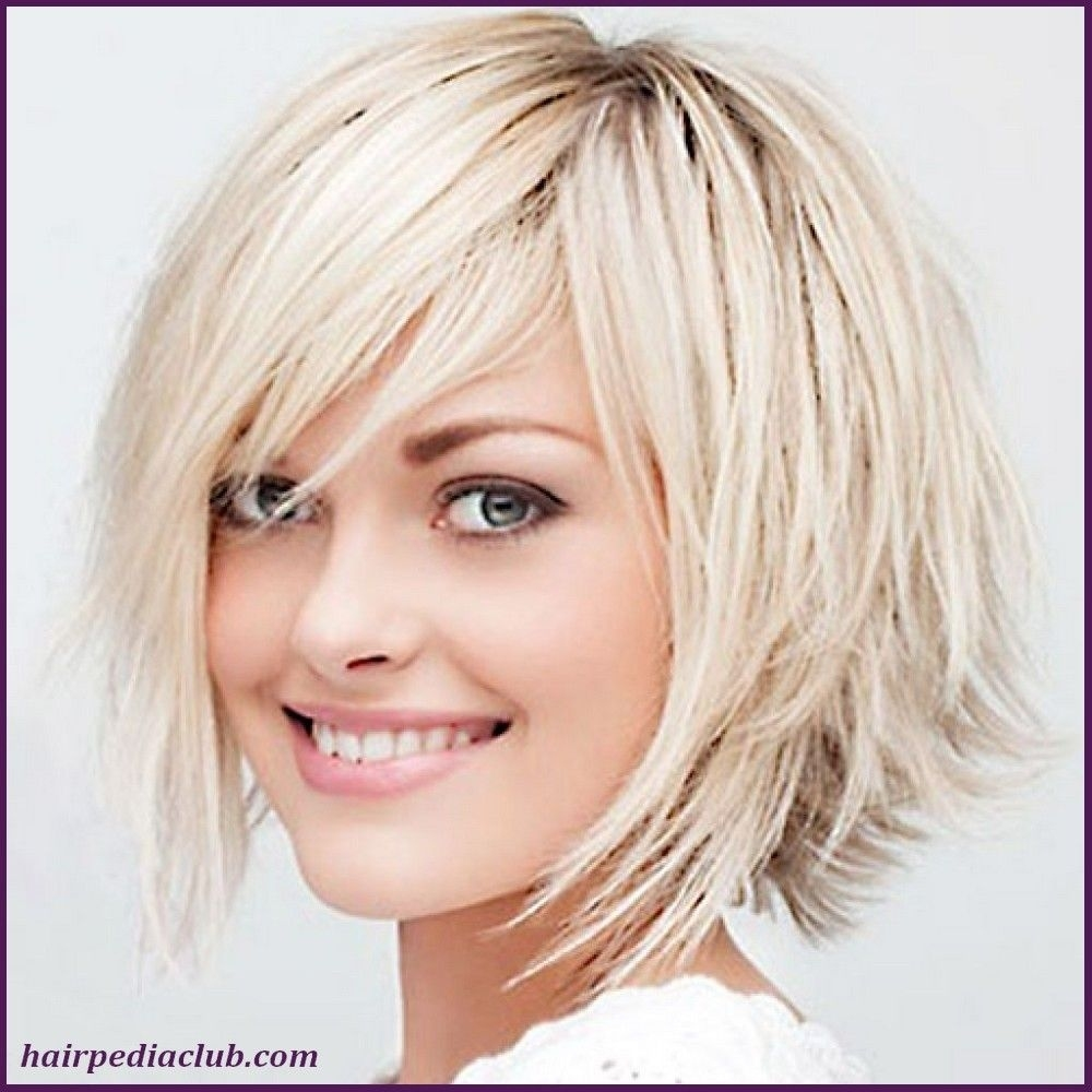 5 Short Haircuts For Thick Hair And Round Faces - Hairstyles regarding Bob Haircuts For Thick Hair And Round Faces