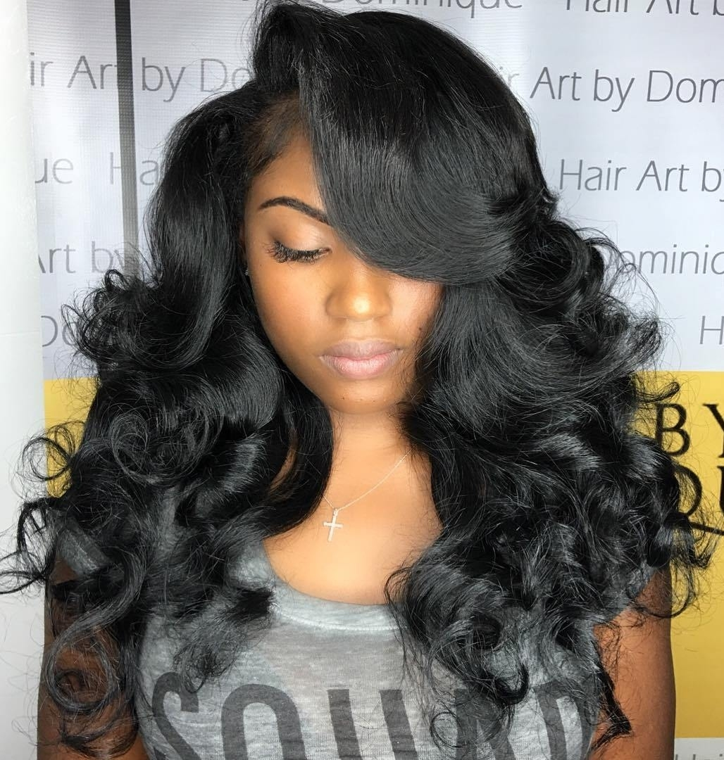 50 Best Eye-Catching Long Hairstyles For Black Women in Curly Hair Style Black Woman