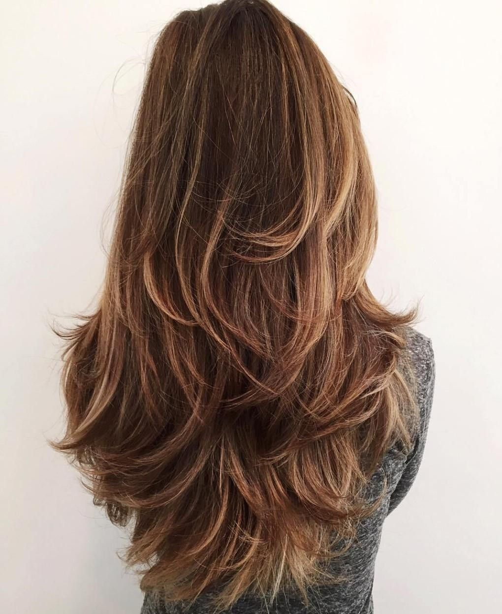 50 Lovely Long Shag Haircuts For Effortless Stylish Looks   Hair intended for Haircut For Thick Hair Long