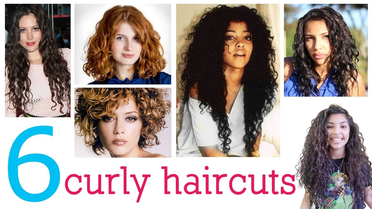 6 Haircuts For Curly Hair - Youtube pertaining to Haircuts For Curly Hair Youtube