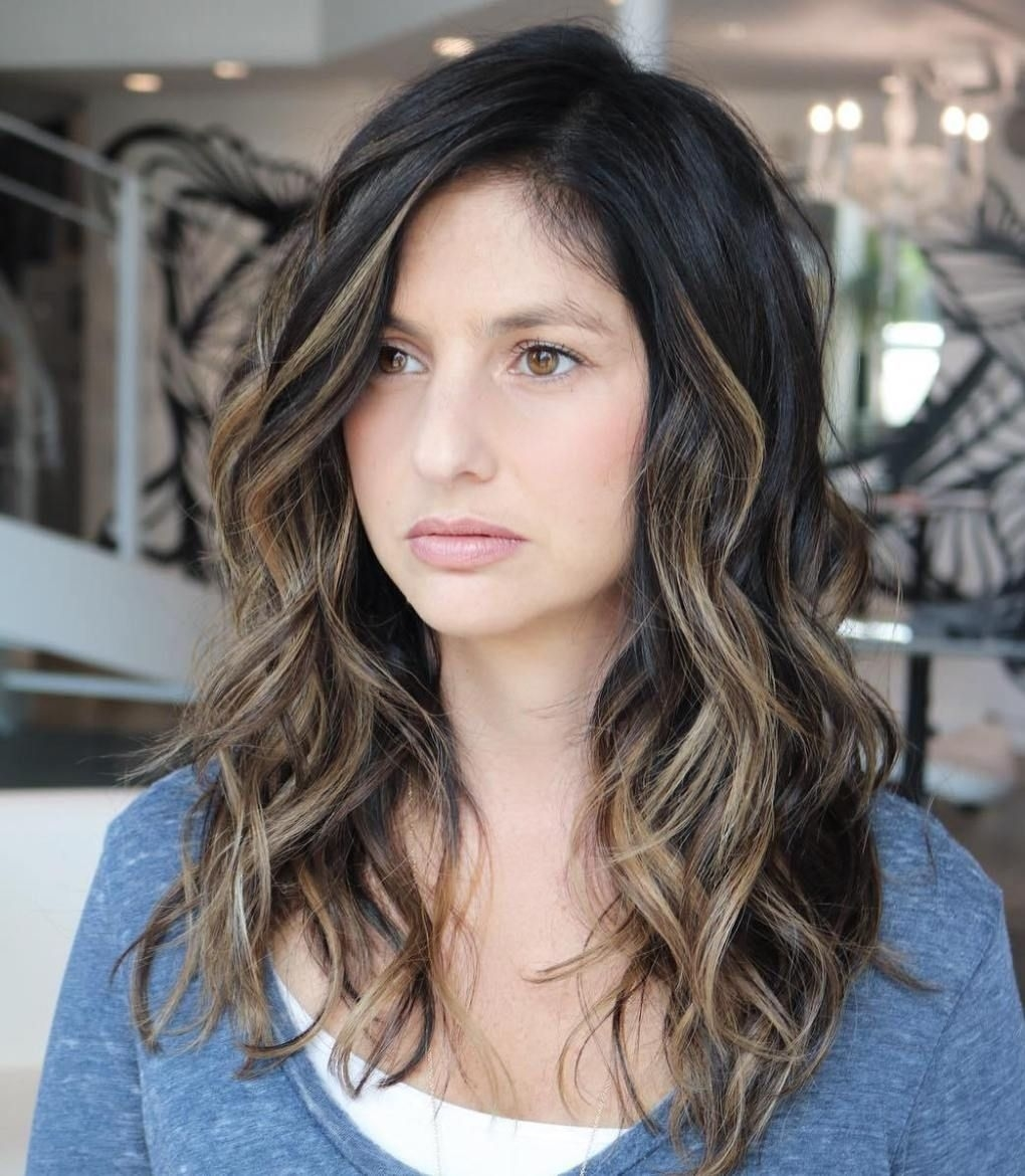 60 Most Beneficial Haircuts For Thick Hair Of Any Length | Balayage within What Kind Of Haircut For Thick Wavy Hair