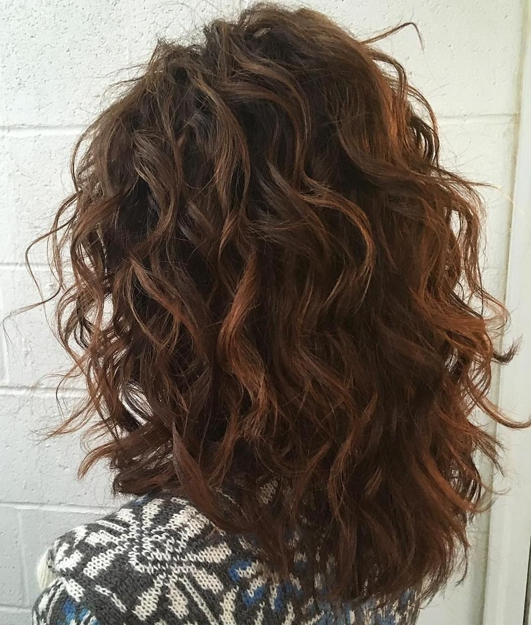 60 Most Magnetizing Hairstyles For Thick Wavy Hair   Cute Long with regard to Haircut For Curly Hair Layered