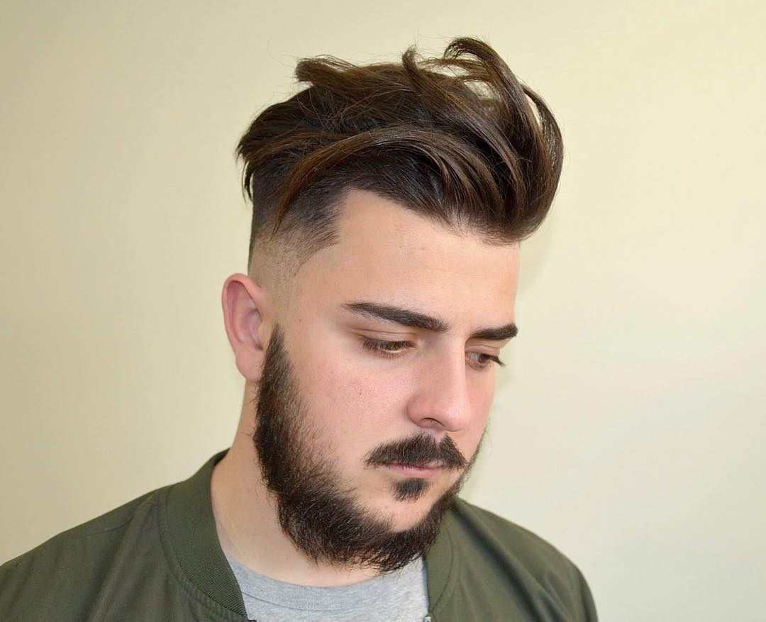 65 Glamorous Men's Haircuts For Round Faces- Trendy And Unique Look with regard to Quiff Haircut For Round Face