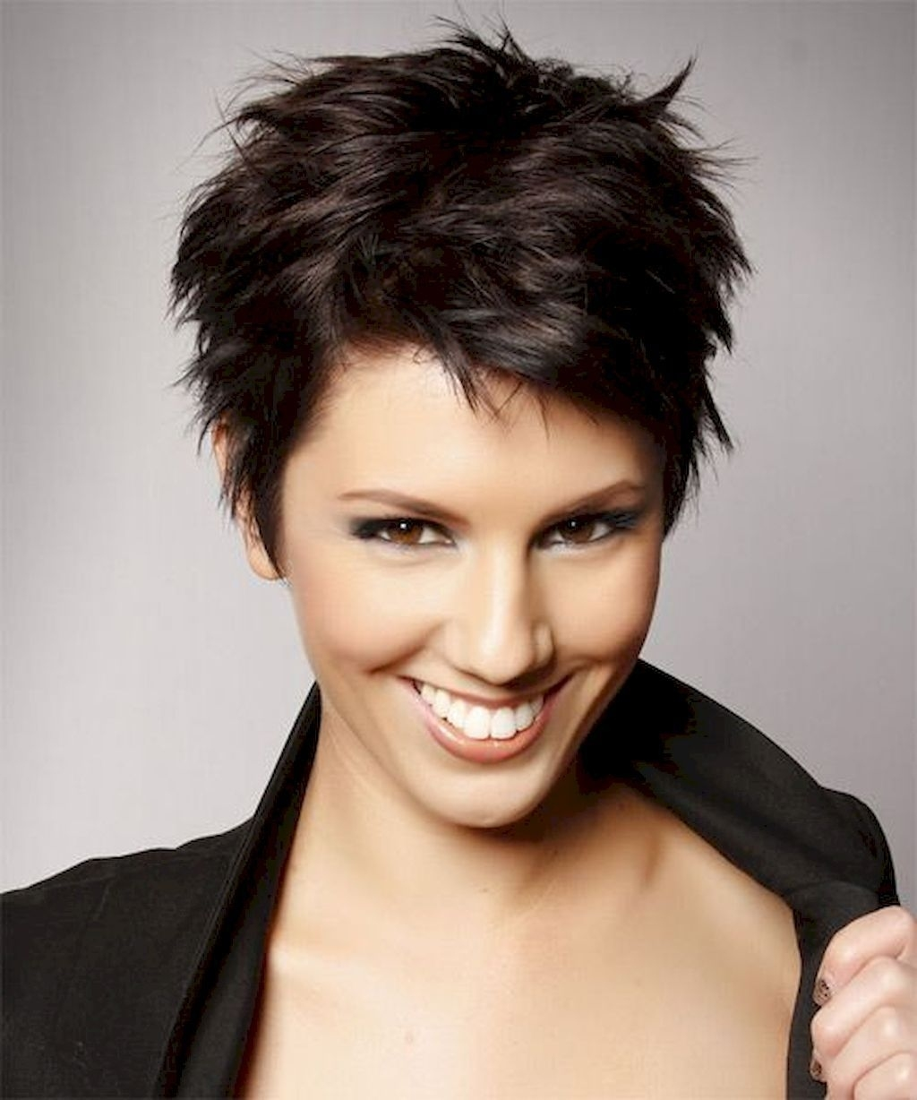 72 Classy Short Pixie Haircuts And Hairstyles For Thick Hair   Short intended for Cropped Haircuts For Thick Hair