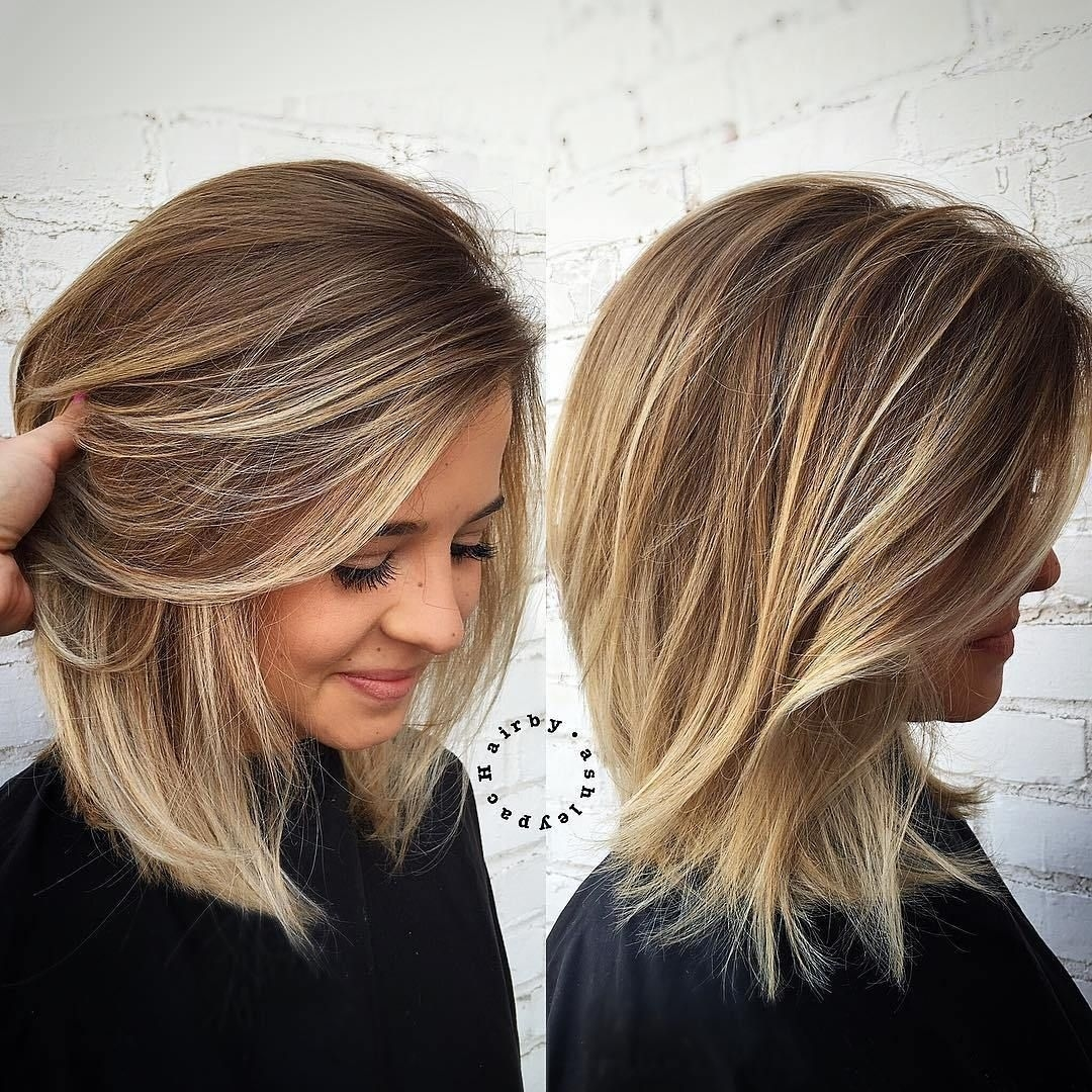 80 Sensational Medium Length Haircuts For Thick Hair | Cool Hair with Haircuts For Thick Blonde Hair