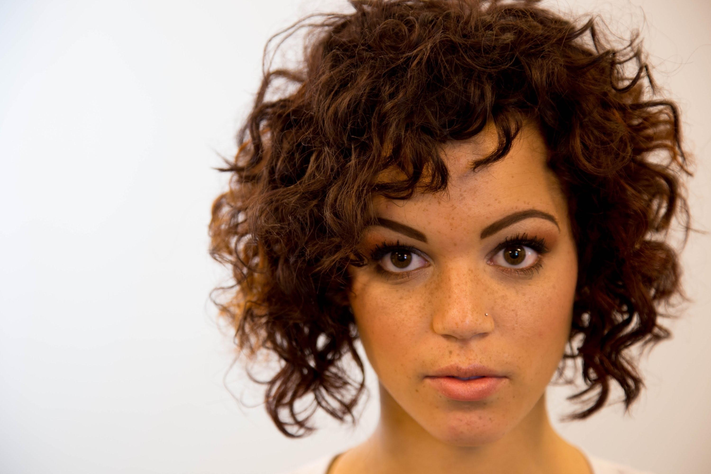 A-Line Bob Haircut On Curly Hair - On The Road Education - Paul pertaining to New Haircut For Thick Hair