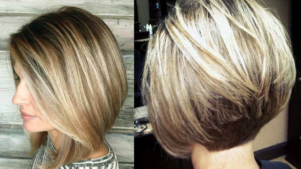 Amazing Bob Hairstyles For Women With Thin Hair & Fine Hair - Youtube within Haircut For Thin Hair Bob