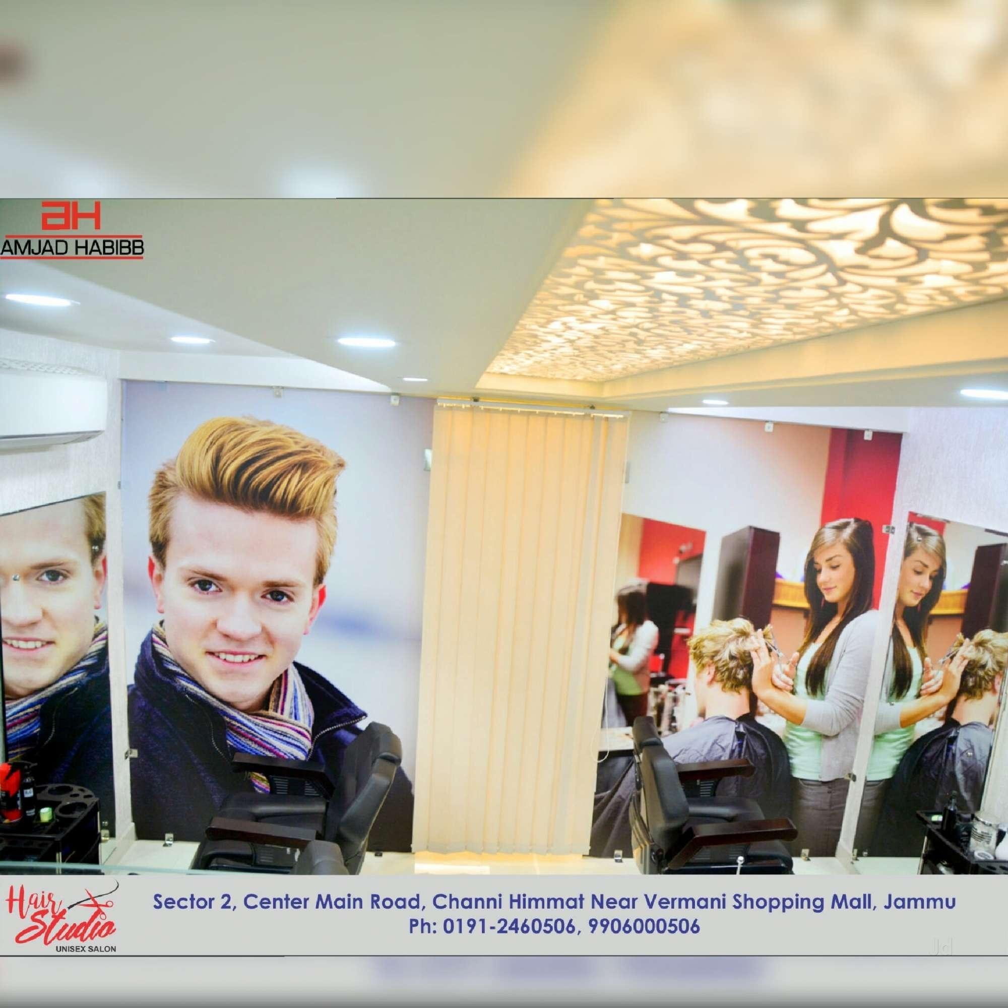 Amjad Habibb Hair Studio Unisex Salon, Chani Himat - Salons In Jammu in Best Haircut Salon In Jammu