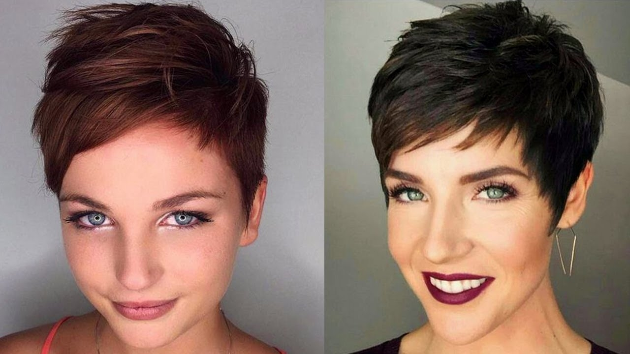Attractive Short Haircuts 2018   Short Hair Trends 2018 Women - Youtube with 2018 Haircut Trends Female Short
