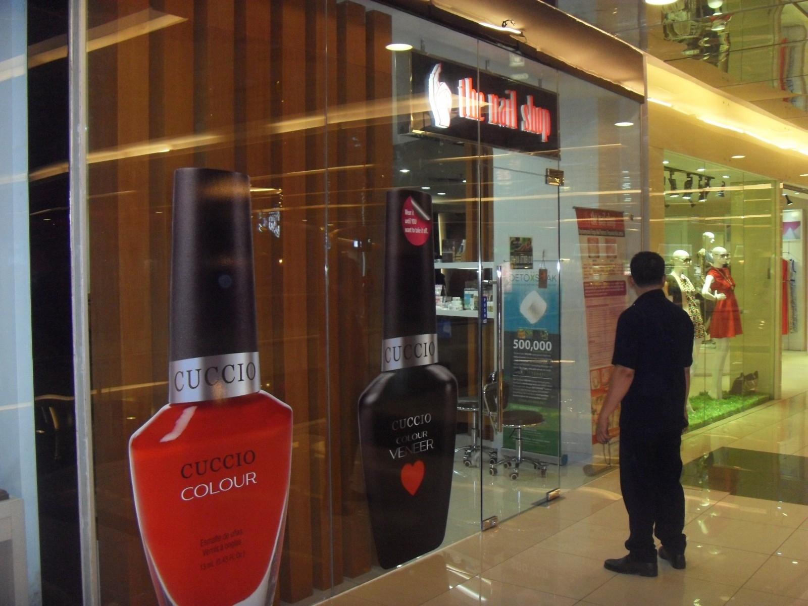 Authorized Salon | Cuccio Indonesia - The Nail Shop in Salon Di Grand Indonesia Mall