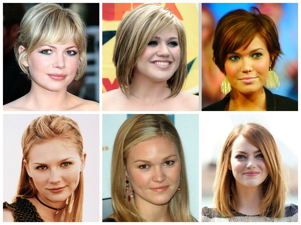 Awesome Best Hairstyles For A Round Face Ideas - Styles & Ideas 2018 within U Shaped Haircut For Round Face