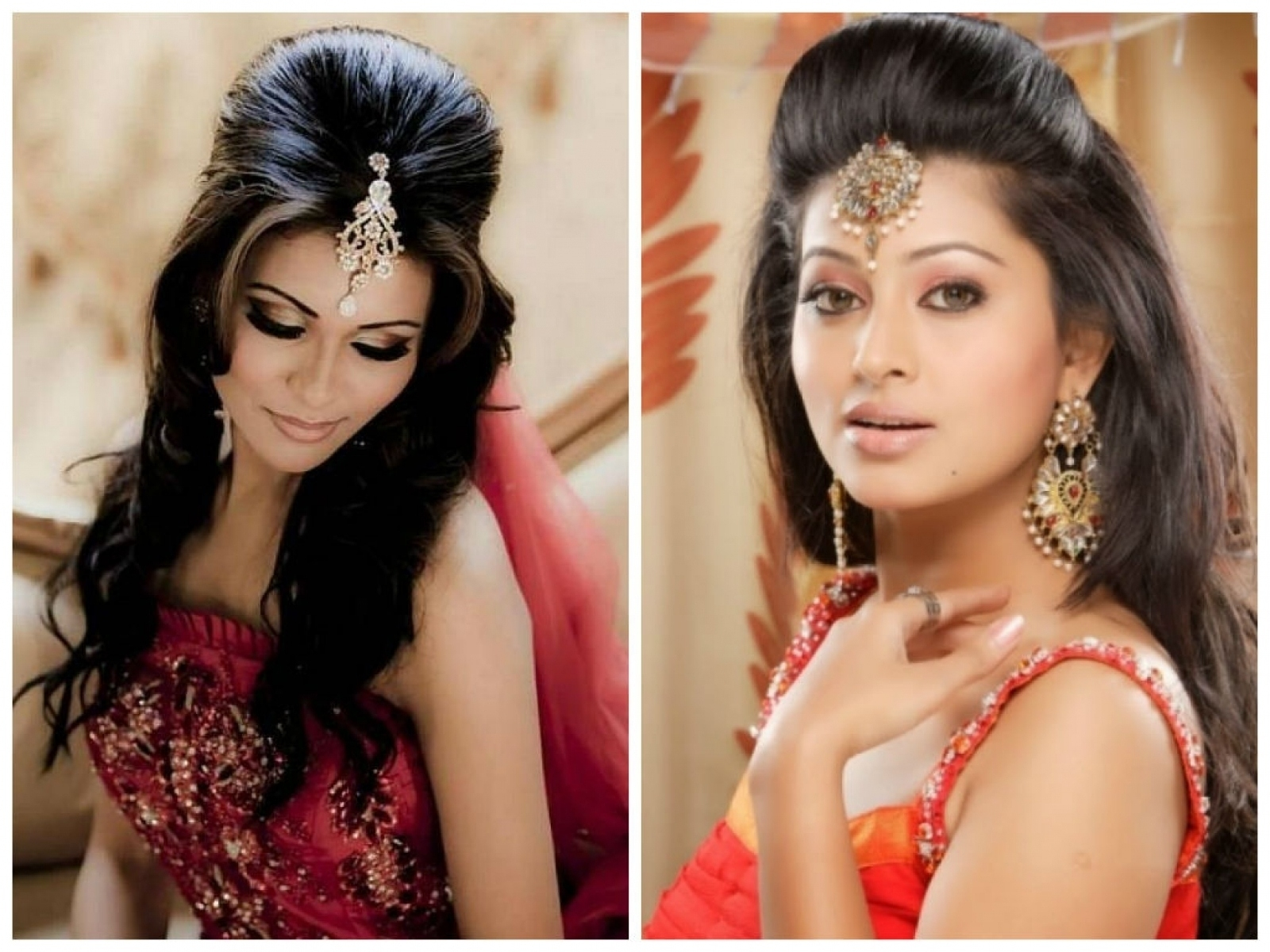 Hairstyle For Thin Hair Indian Wedding