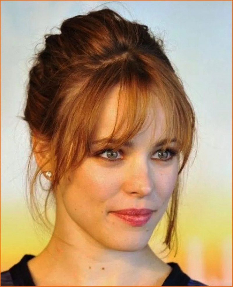 Bangs Hairstyles 2018 With Round Face Shape (5) - Hairstyles, Easy intended for Haircut For Round Face Bangs