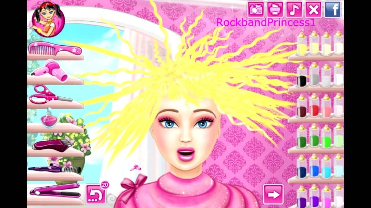 Barbie Hair Cutting Game Barbie Makeover Game - Youtube with Haircut Salon Games Free Online