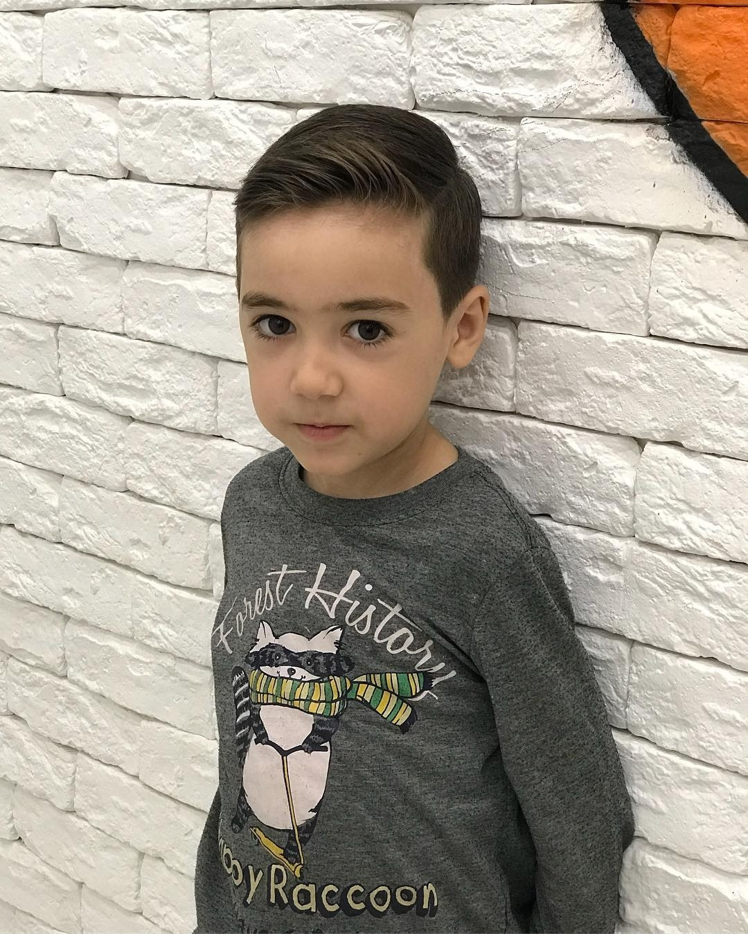 Best 34 Gorgeous Kids Boys Haircuts For 2018. throughout Haircut For Round Face Baby Boy