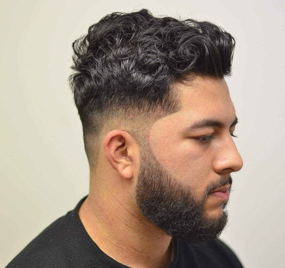 Best Curly Hairstyles For Men 2018 in Haircut For Curly Hair Male 2017