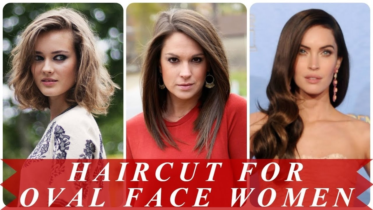 Haircut For Oval Face Female 2018