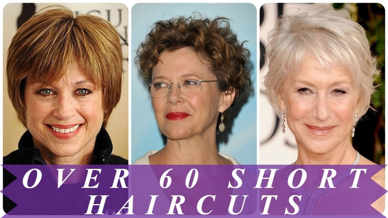Best Ideas For Short Haircuts For Women Over 60 2018 - Youtube regarding 2018 Haircuts Female Over 60