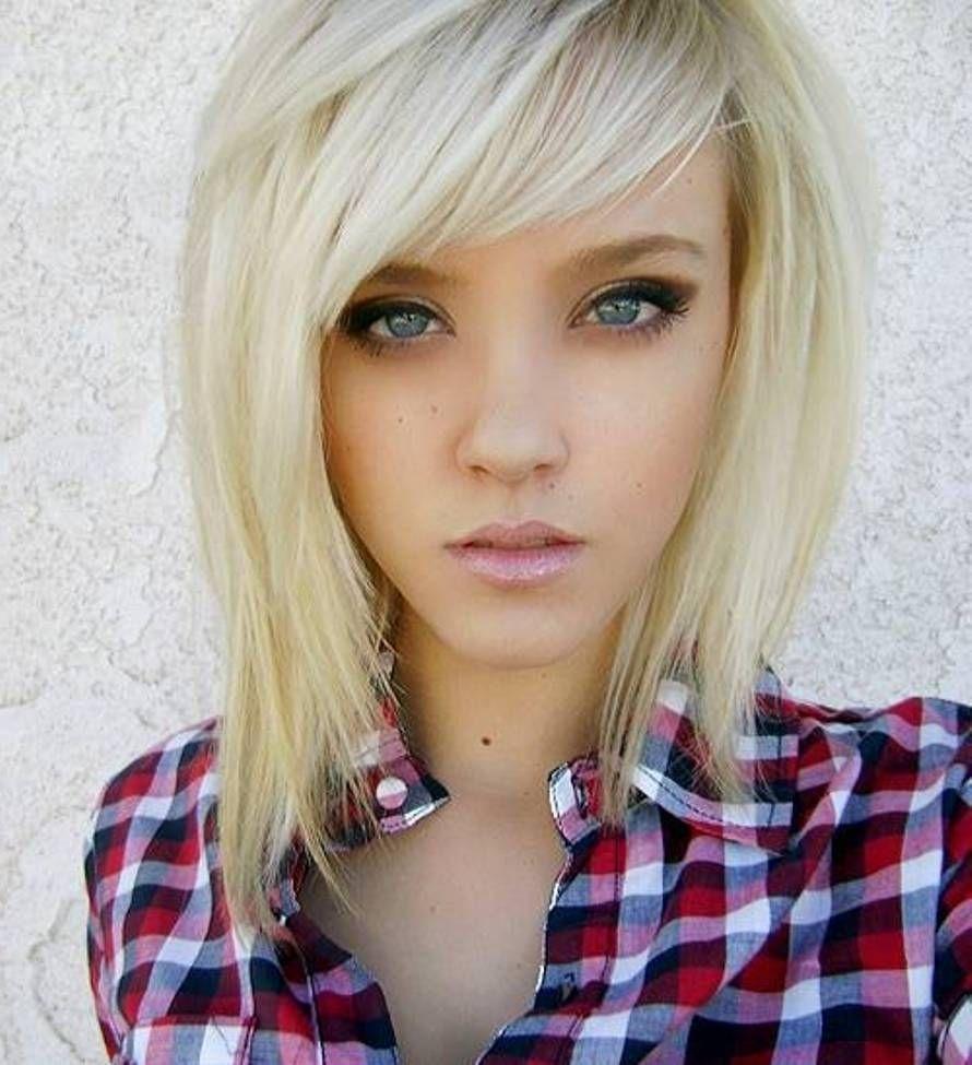 Emo Girl Haircut For Thin Hair Wavy Haircut