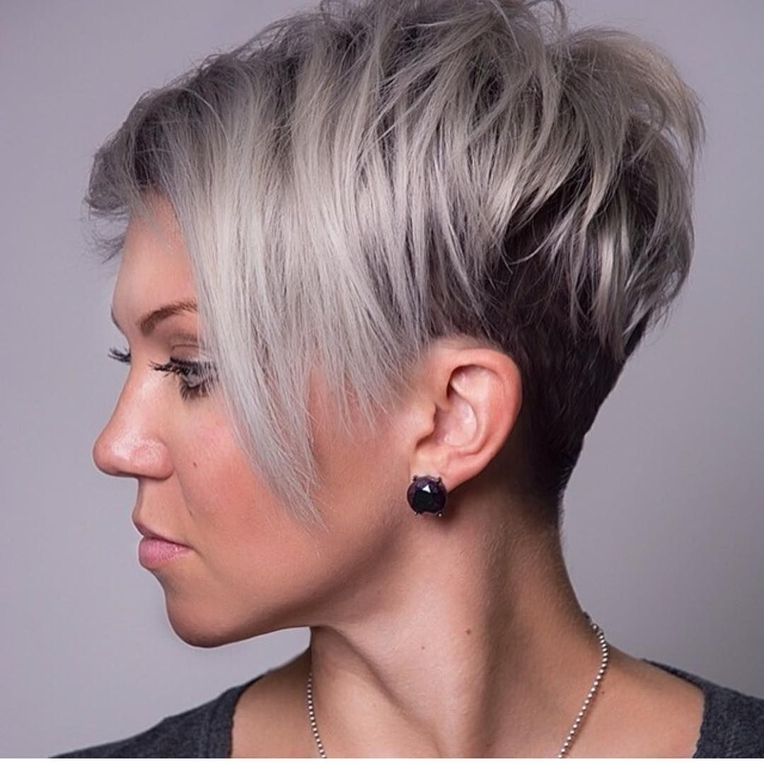 Cool 45 Unique Short Hairstyles For Round Faces – Get Confident And intended for Very Short Haircut For Round Face