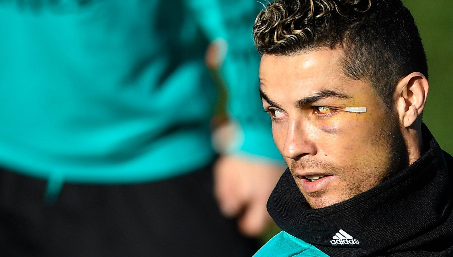 Ronaldo Haircut 2018 Champions League Wavy Haircut