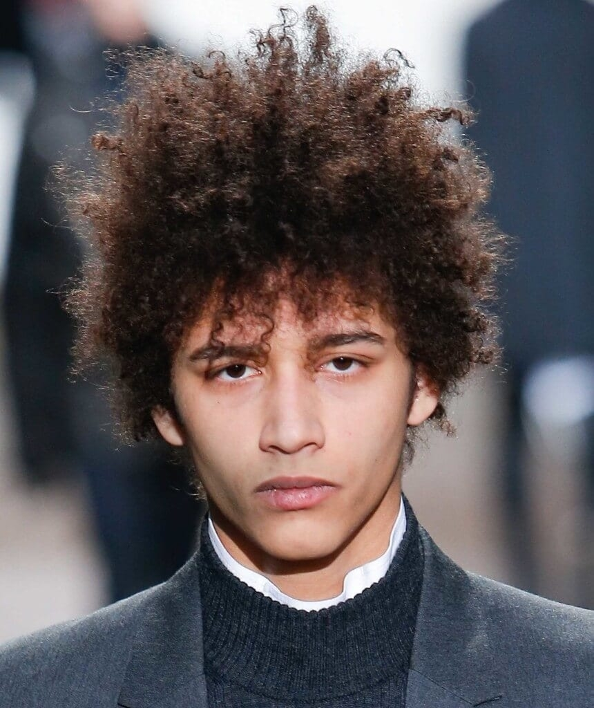 Curly Hair Men- Our Fave Styles & How To Work Them For Your Face Shape throughout Curly Hairstyle For Round Face Man