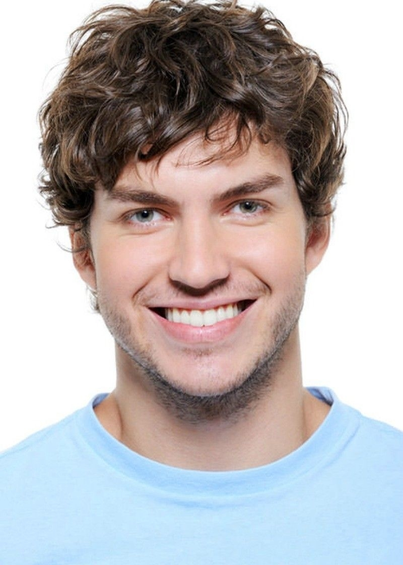Curly Hairstyle For Round Face Shapes   น่ารัก   Pinterest   Curly for Haircut For Curly Hair Round Face Man