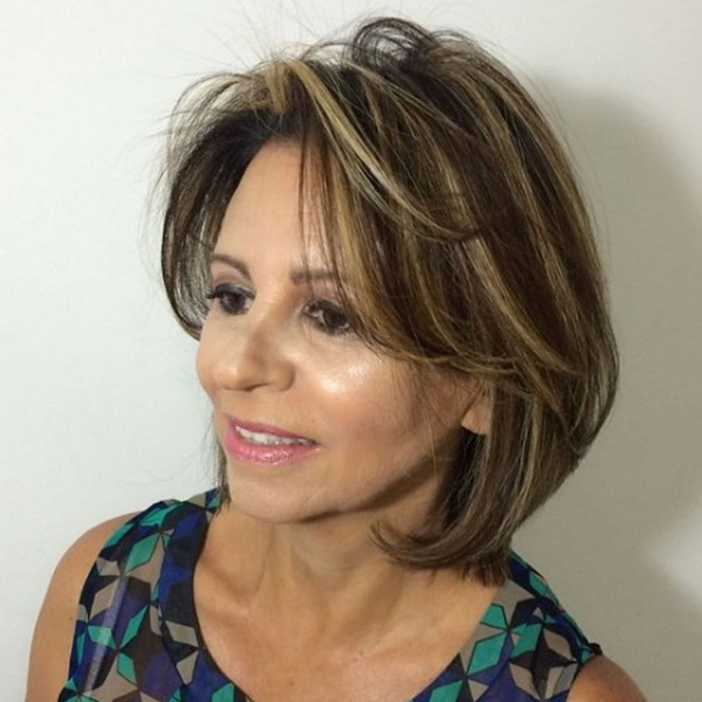√ 24+ Beautiful Hairstyles For Older Women: 2018 Haircuts For Older intended for 2018 Haircut Trends Female Over 50
