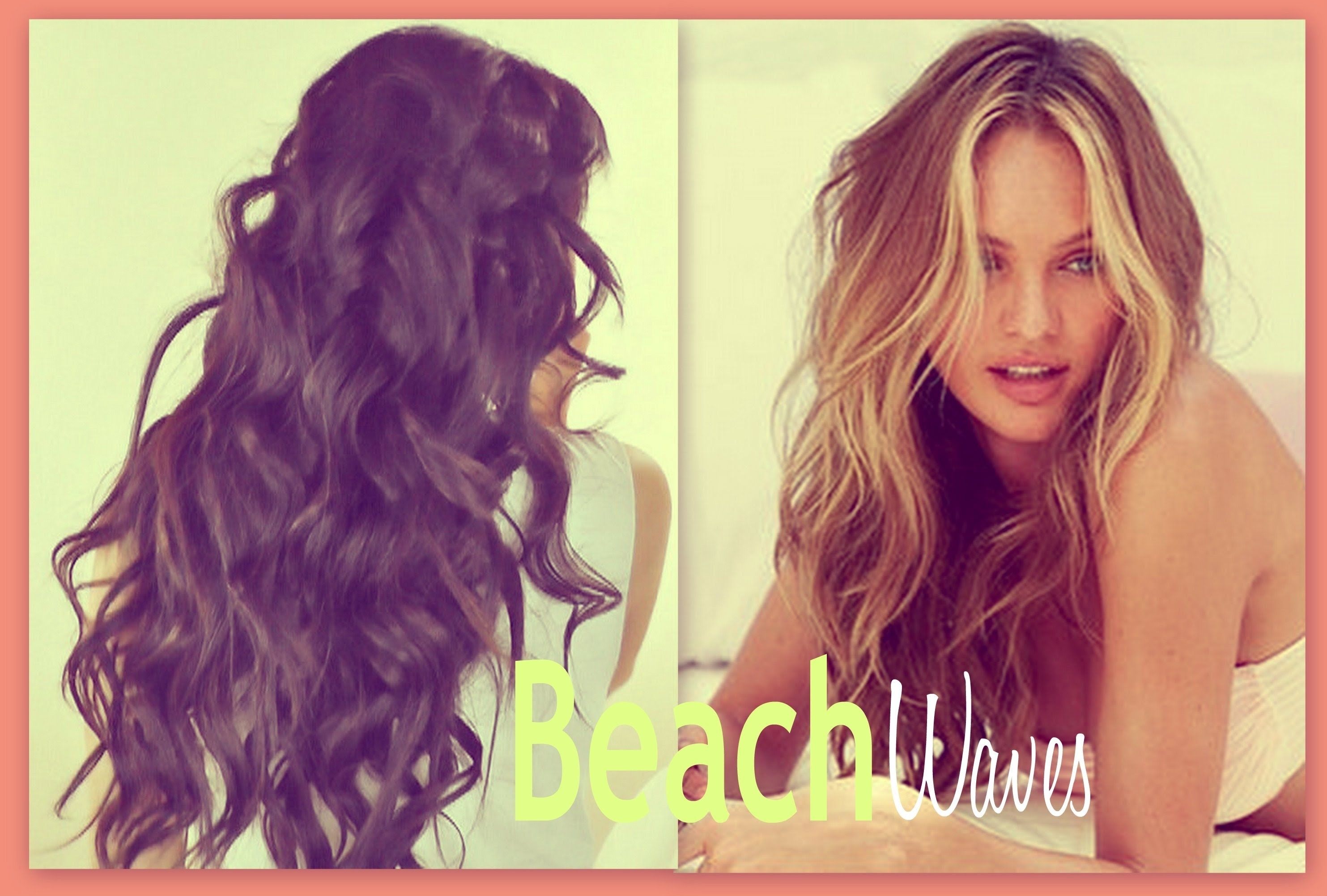 ☆Beach Hair Tutorial | Victoria's Secret Curly Hairstyles - How To for Curly Hair Styles At The Beach