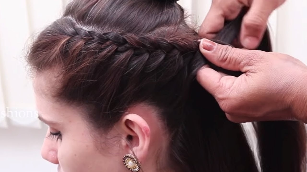 Easy Bridal Hairstyles For Young Girls | Hairstyles Videos 2018 throughout New Hairstyle 2018 Girl Youtube