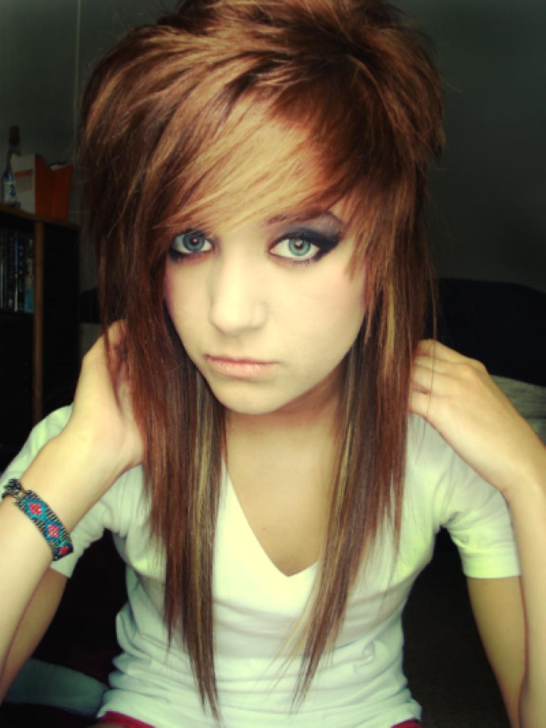 Emo Hairstyles For Girls   Hair Styles   Pinterest   Emo Haircuts intended for Emo Haircuts For Thick Hair Girl