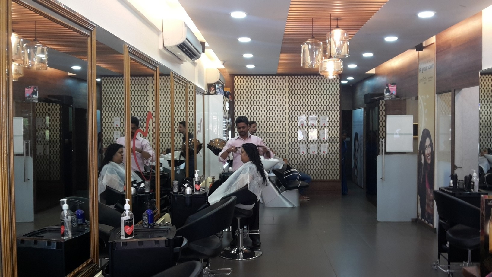 Enrich Salon,bannerghatta Road,bangalore With Prices & Rates intended for Haircut Price In Enrich Salon