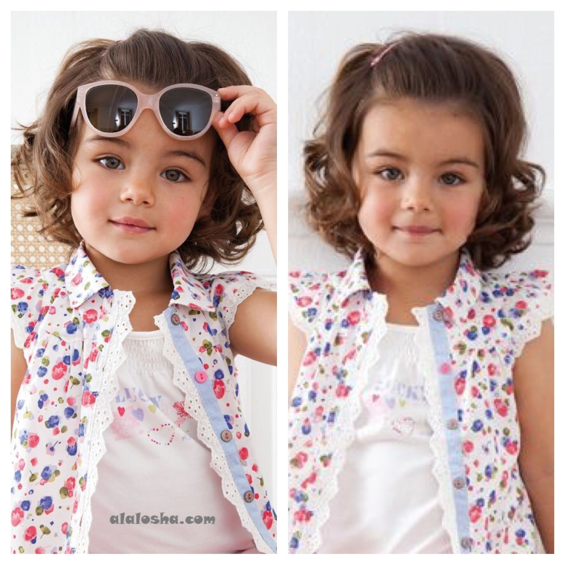 Hair Styles For Toddlers With Curly Hair   Peyton Kennedy within Haircut For Curly Hair Little Girl