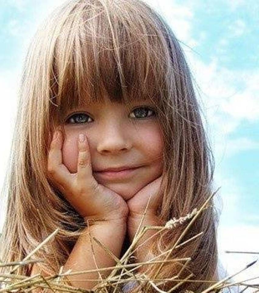 Hair With Bangs: Girls Almost Always Have Bangs That Are Cut Plainly regarding Toddler Haircuts For Thin Hair Girl