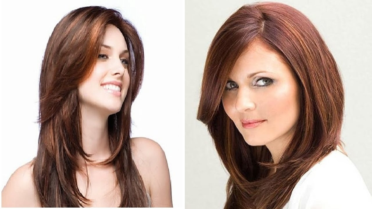 Haircut For Round Face With Long Hair - Youtube throughout Haircut For Round Face And Long Hair