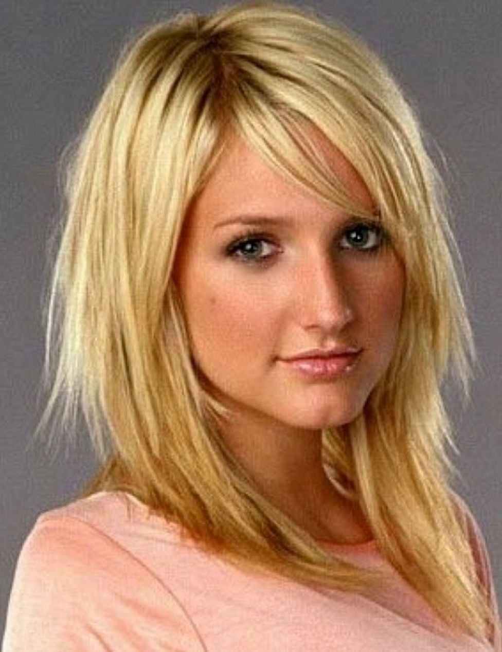 Haircuts For Thin Hair Square Face   Layered Hairstyles With Side with Haircuts For Thin Straight Hair With Bangs