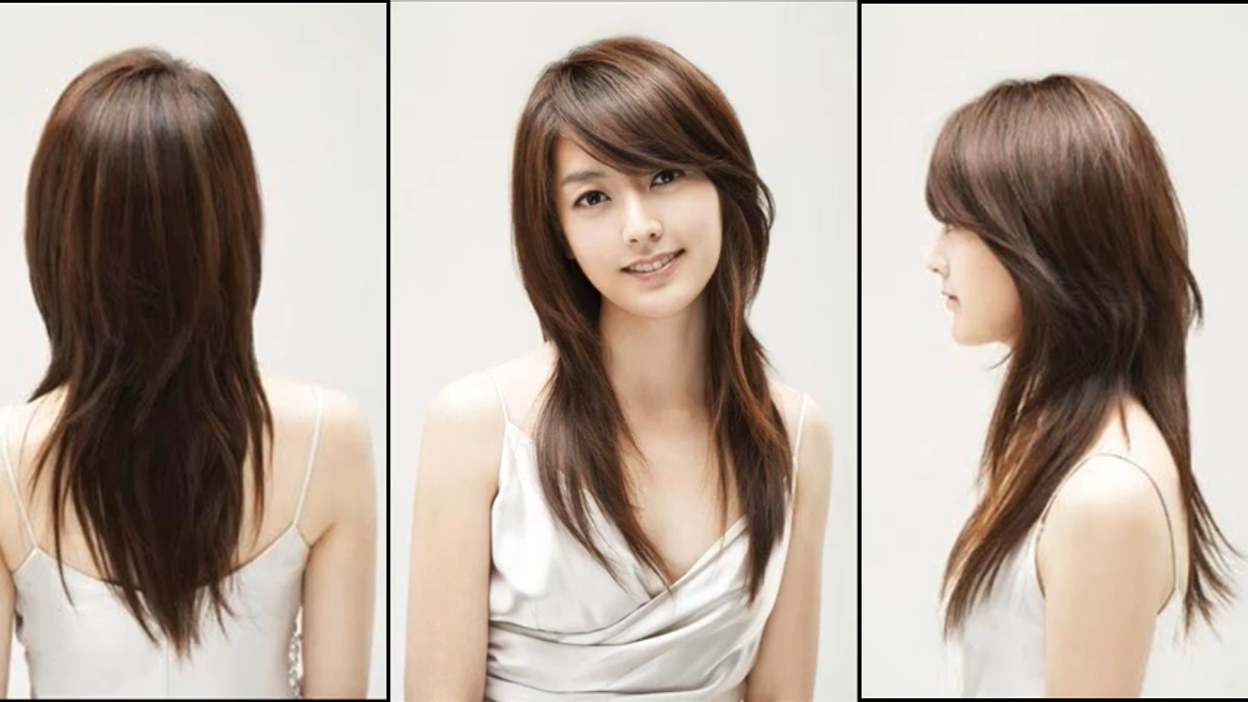 haircut for oval face girl - wavy haircut