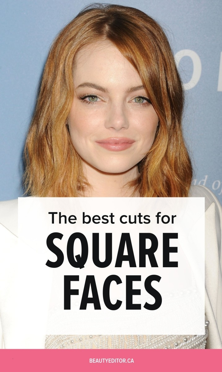 Best Haircut For Square Face Over 50 Wavy Haircut